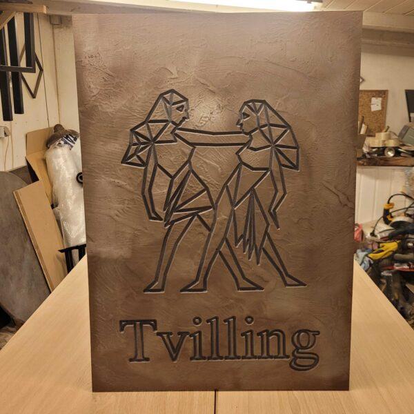 pladeplakat-tvilling