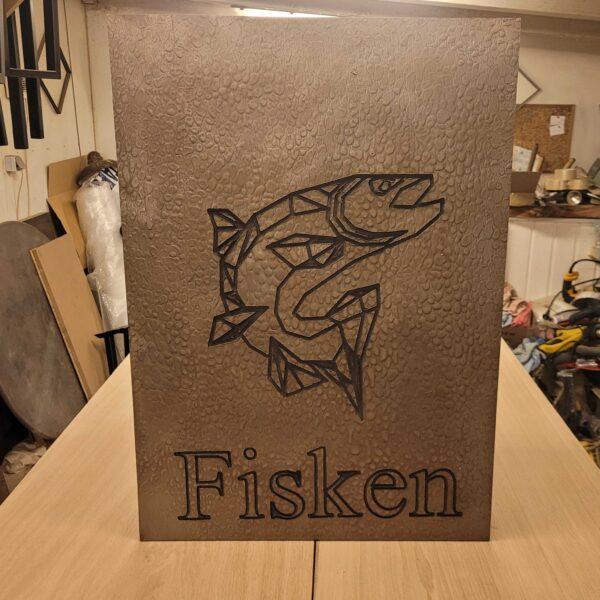 fisken-pladeplakat
