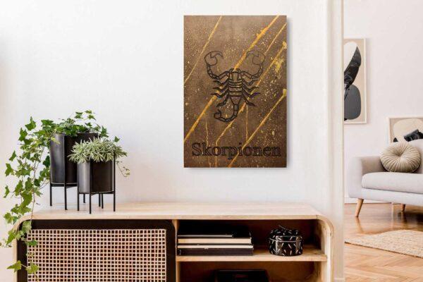 skorpionen-pladeplakat